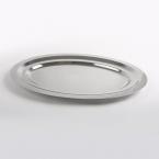 Plat ovale inox 41 x 28 cm